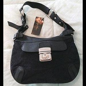 Nicole Miller collection Black shoulder purse